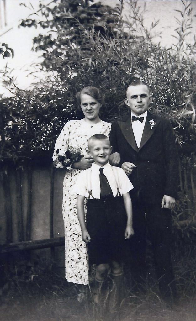 Foto der Familie Steinbach, um 1936