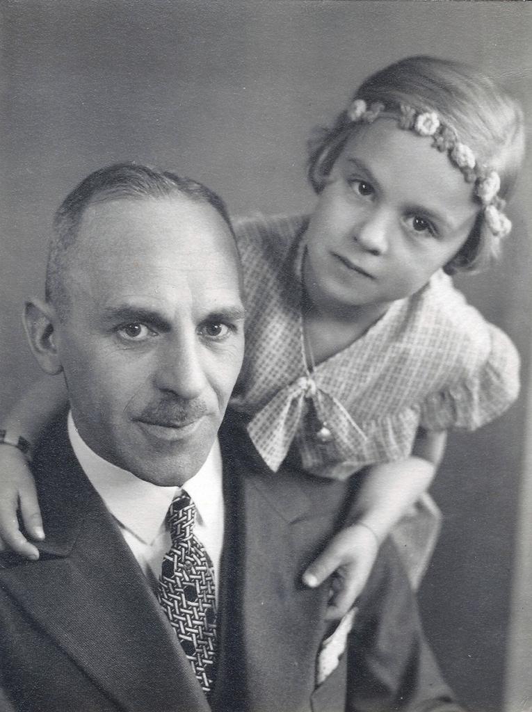 Foto von Fritz Wenzel und Ingeburg, 1935